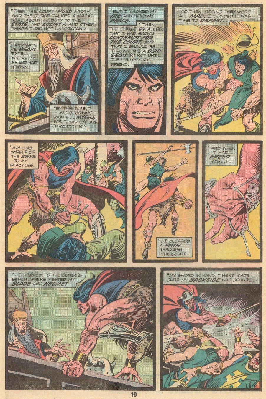 Conan the Barbarian (1970) Issue #58 #70 - English 7