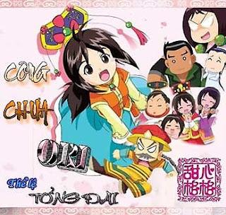 Công Chúa Ori - Princess Ori