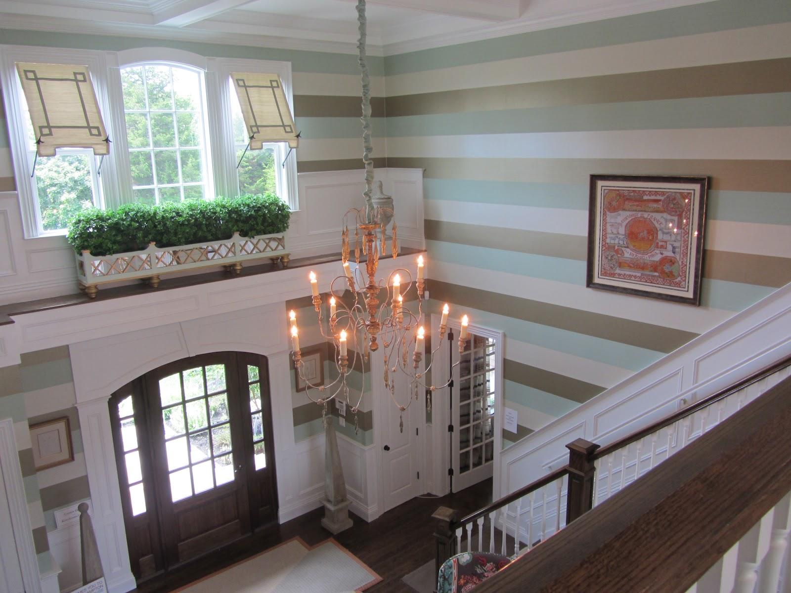 Two Story Foyer Window Treatment : Carrie s design musings hampton designer showhouse