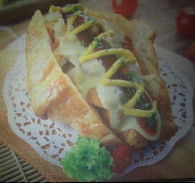 Croissant Sandwich Nugget Barbeque