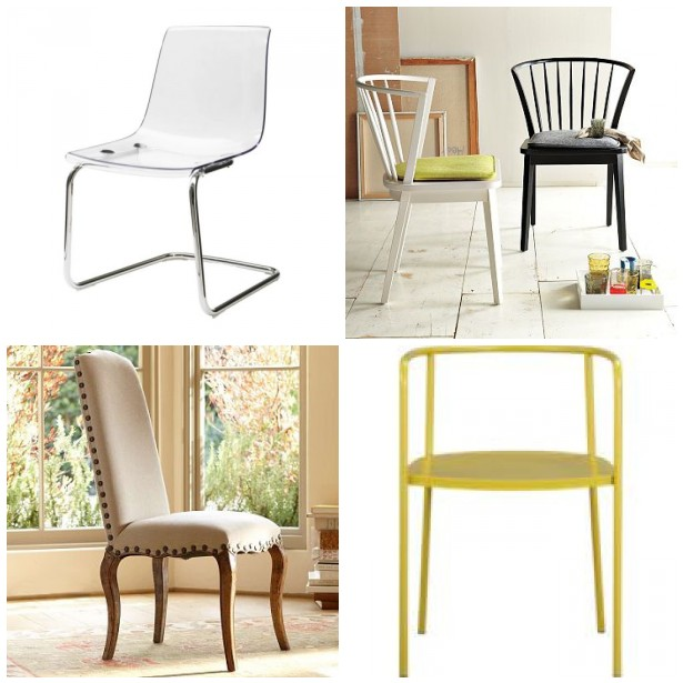 {from The Top Left To Right Vienna Side Chair, Constance Side Chair, Vapor  Chair, Tolix Chair}
