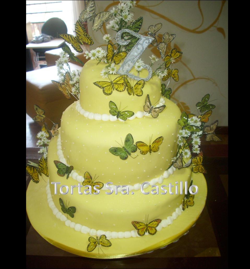 Pasteles De Mariposas Para Quince Anos