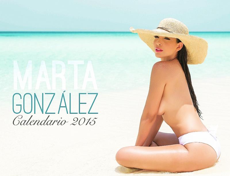 La Actriz y Presentadora de TV Marta Gonzalez Lanza Sexy Calendario Turistico
