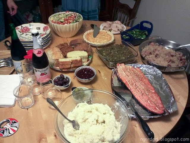 Our Non-Traditional Thanksgiving Menu