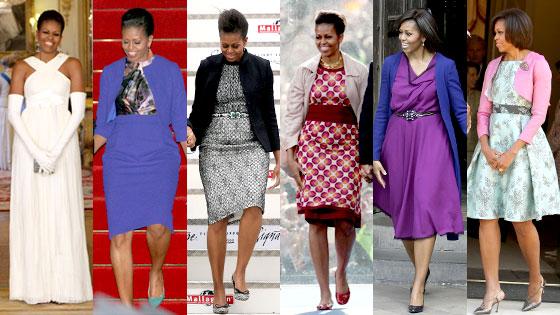 New Fashion Info: Michelle Obama fashion icon