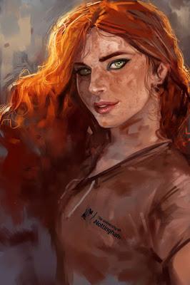 hair midget Red