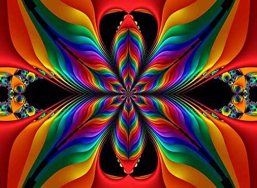 fractal - colores - artedigital - ilusion