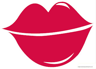 Dibujos de labios para imprimir