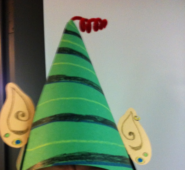 Paper+Elf+Hat+Template Squish Preschool Ideas: Christmas 2012