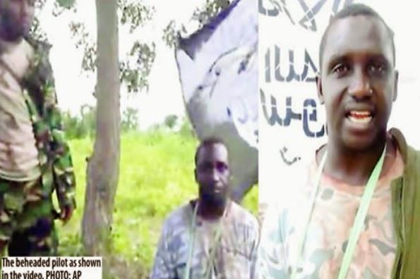 boko haram beheads nigerian pilot