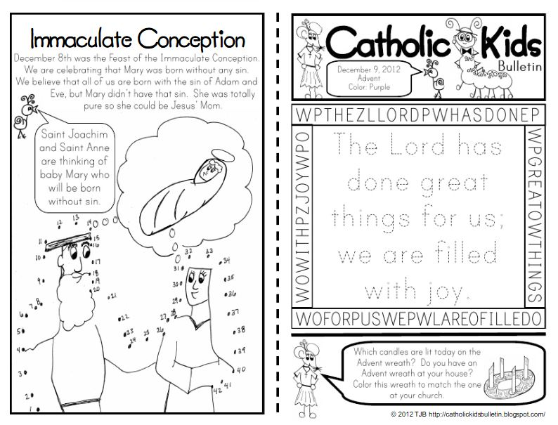 The Catholic Toolbox: FREE Children\'s Worship Bulletins and/or ...