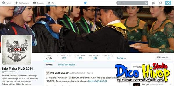 Tampilan Baru Twitter 2014
