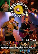 DVD Gilberto e Gilmar Ao Vivo