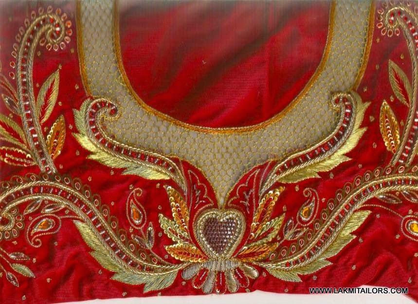 Lakmi ladies tailors wedding blouses works hand