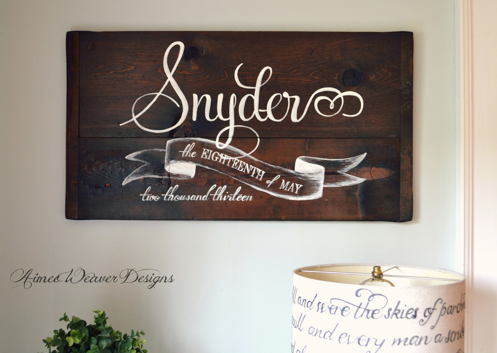 Week Of Wedding Gifts For Bride : signs in the past few weeks for customers to give as a wedding gift ...