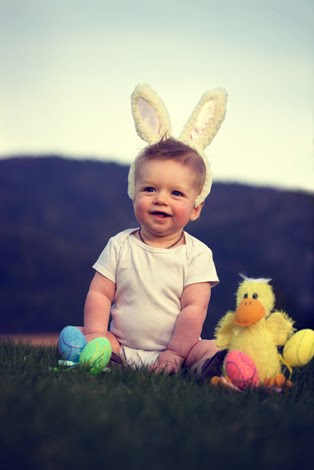 Baby Bliss Photography Easter Photo
