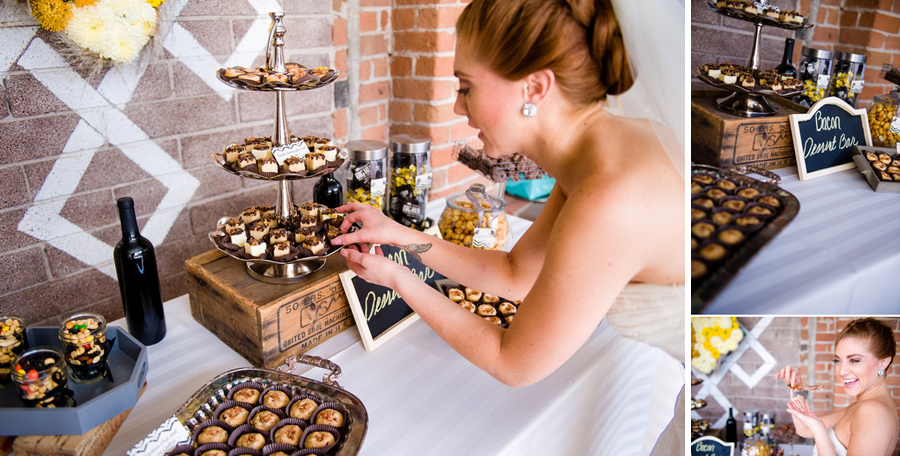 Jill Lauren Photography, Glitz & Glam Cupcakes, Bacon Dessert Bar