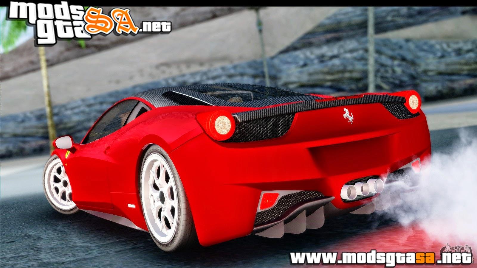 SA - Ferrari 458 Italia Stanced