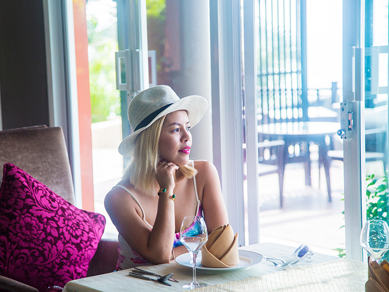 Crystal Phuong at Azu restaurant, Radisson Blu Plaza Phuket hotel