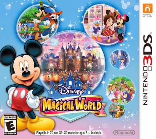 Disney Magical World game review Nintendo 3ds