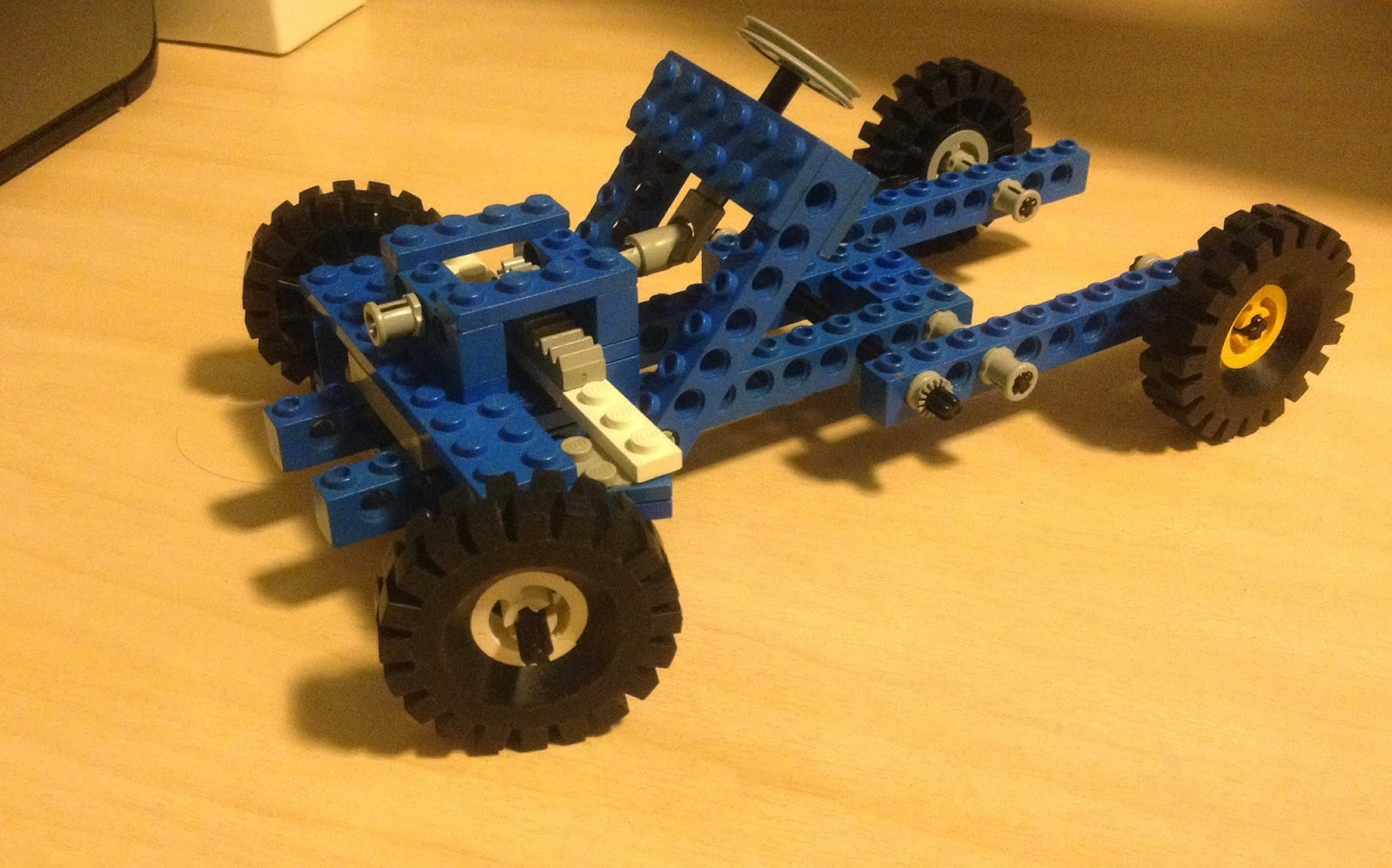 Old Machinery Lego Car Drawing