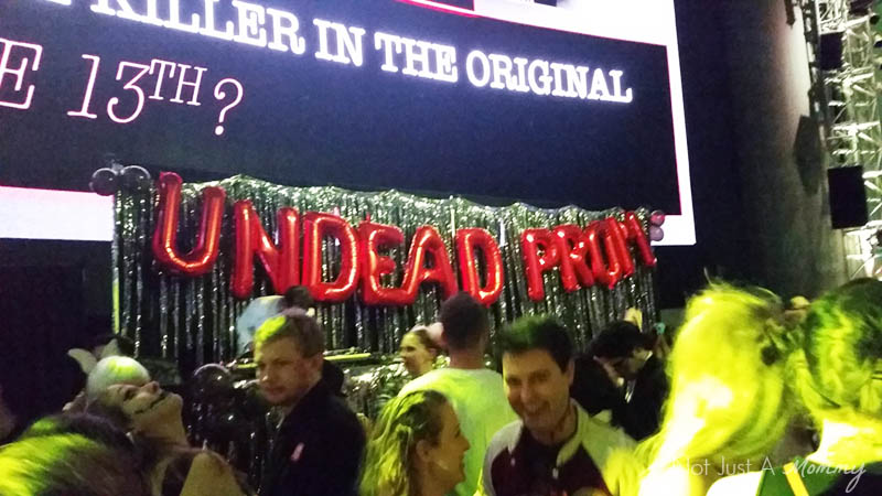 90's Fashionably Undead Prom At Seattle's EMP; backdrop