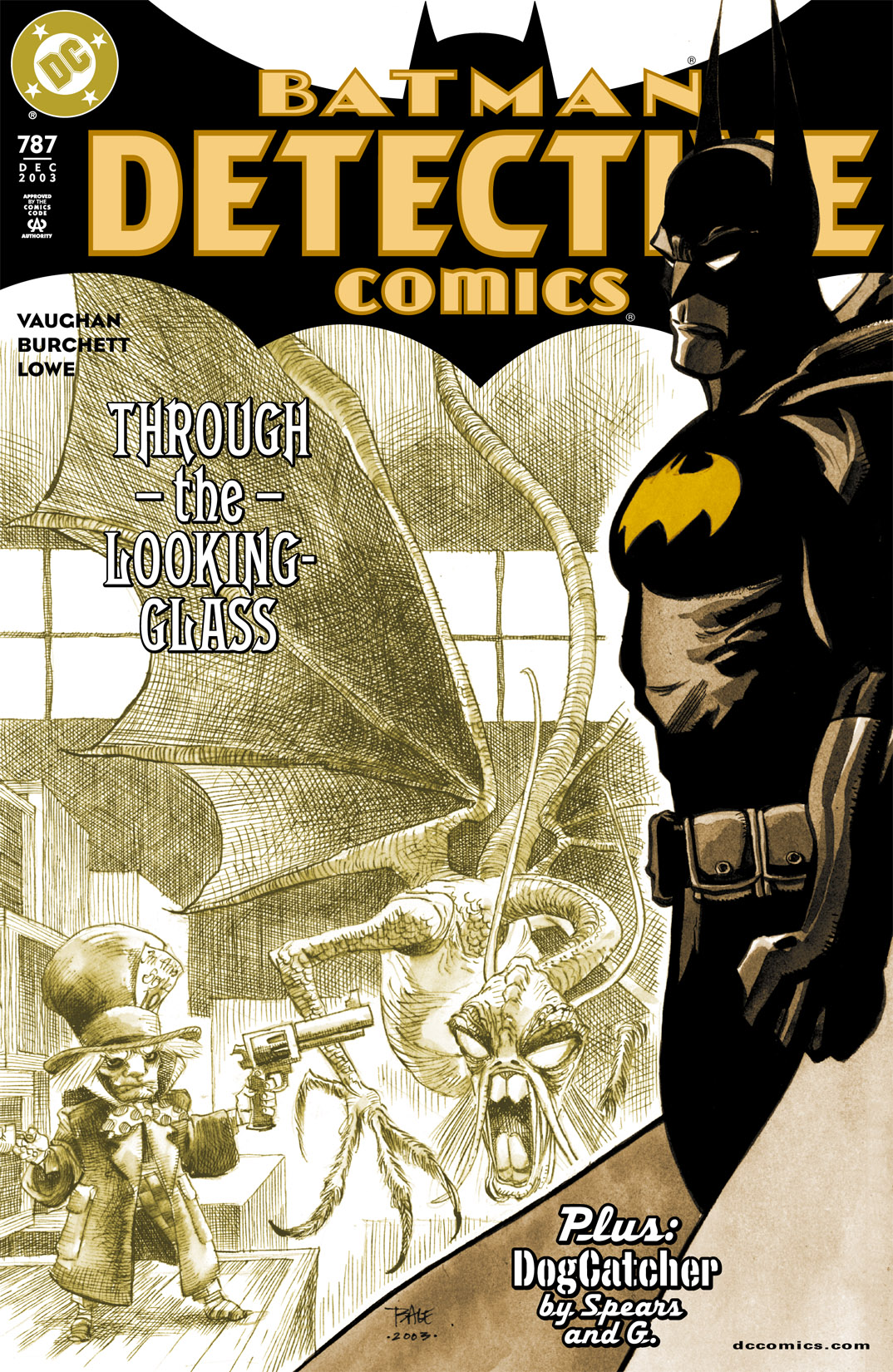 Detective Comics (1937) Issue #787 Page 1