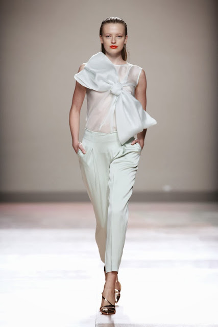 Fashion runway duyos spring summer 2014 mercedes benz - Madrid chic style ...