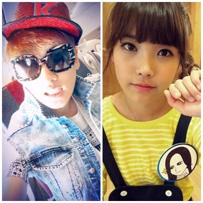 IU dan Eunhyuk Cute