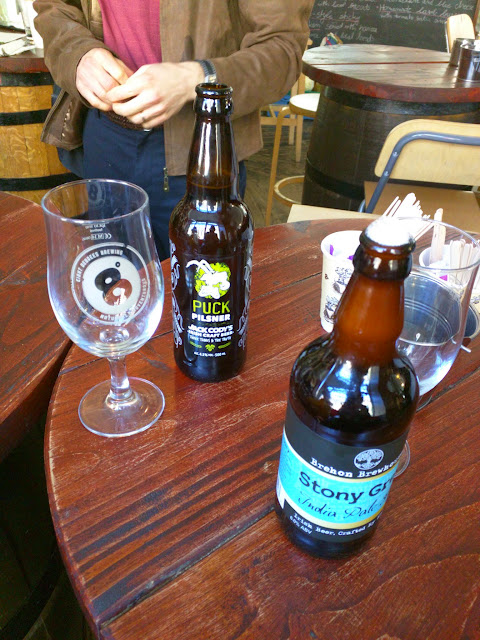 Craft beer choices at Probus Wine and Spirits in Dublin