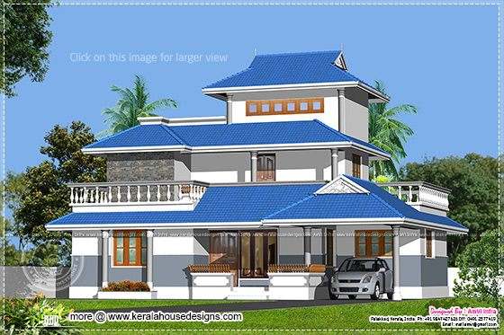 1329 sq-ft home design