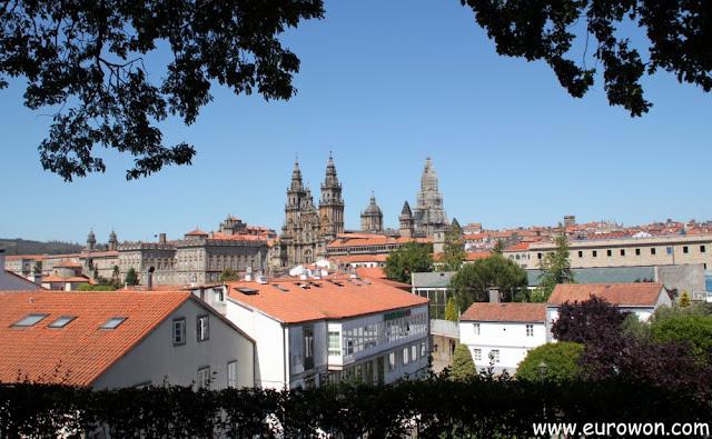 Catedral de Santiago desde alameda