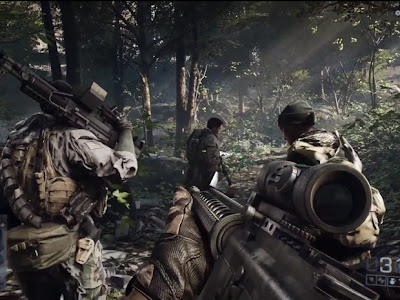 Electronic Arts anunciou oficialmente à estréia mundial Battlefield 4