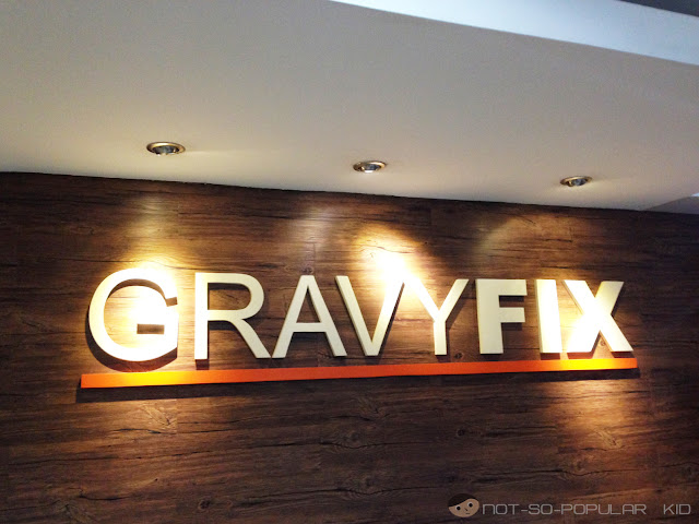 Gravy Fix in Burgundy Transpacific Place, Taft