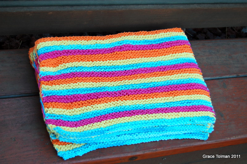 In my shoes: Knitted placemat set