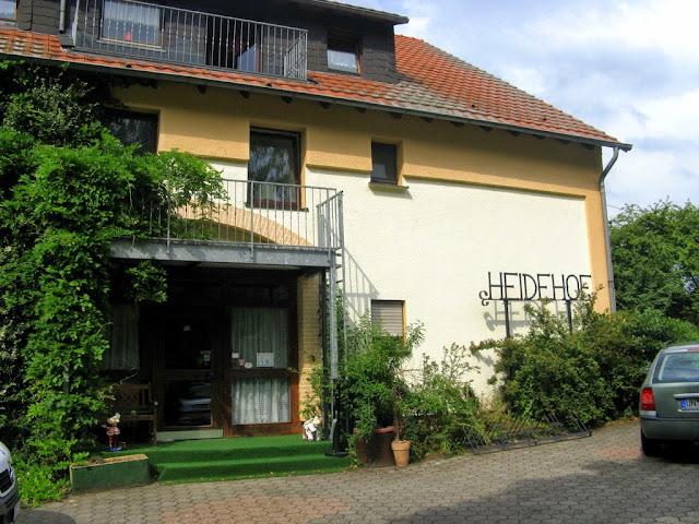 Foto Hauptgebäude Hotel Heidehof