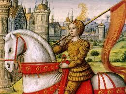 Joan of Arc seorang wanita prajurit dan panglima perang yang gagah berani