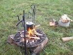 Raised Campfire