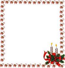 Borda Moldura Cart  O De Natal