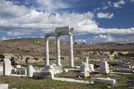 Que visitar en La isla Delos en Grecia