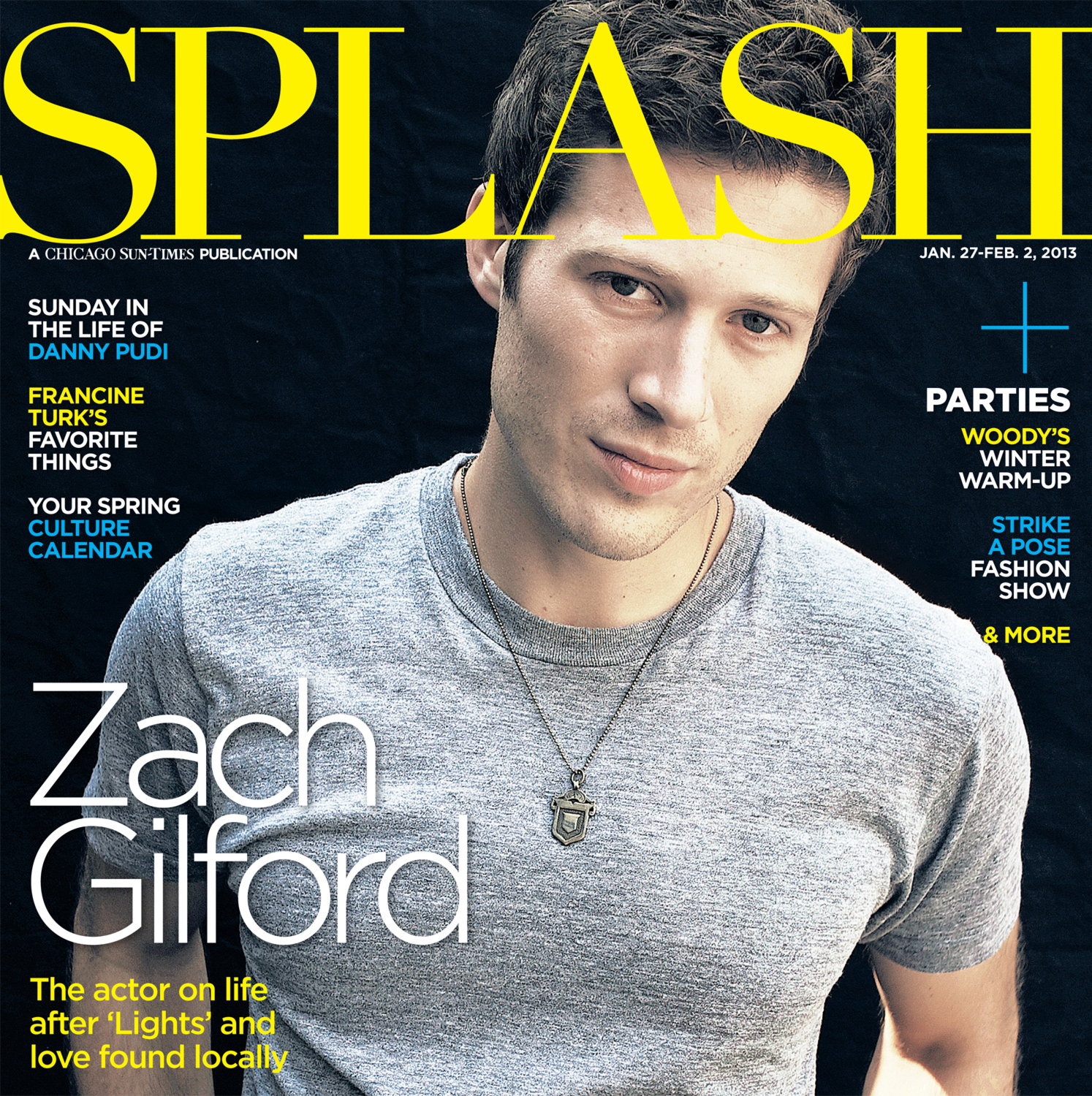 Night Lights for the cover of the Chicago Sun TImes SPLASH magazine