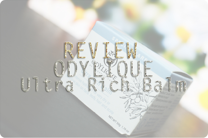 odylique ultra rich balm