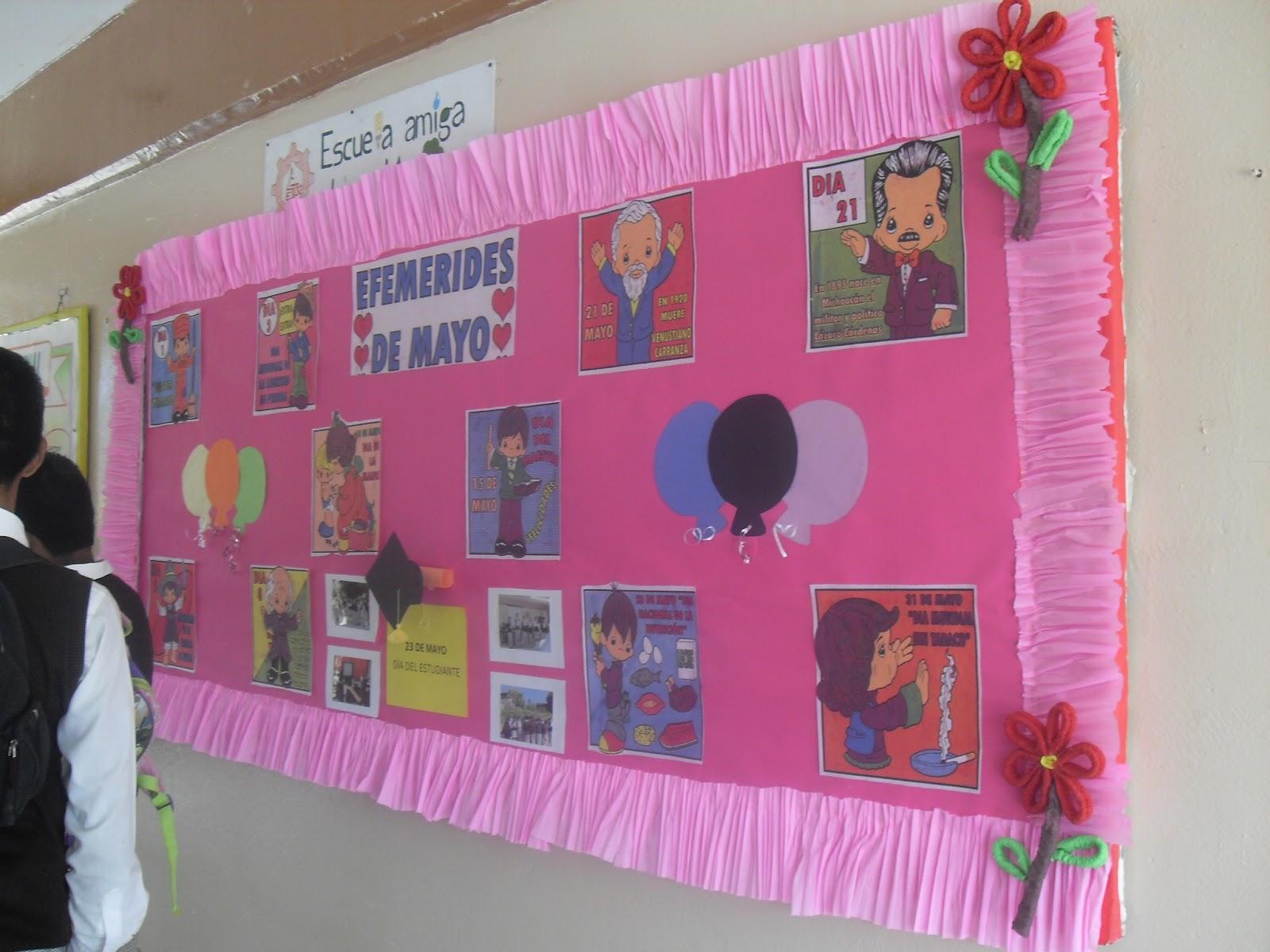 Sec t cnica32 peri dico mural de mayo for Decoracion 10 de mayo