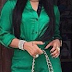 Tonto Dikeh Looks Fierce In Her Green Jumpsuit