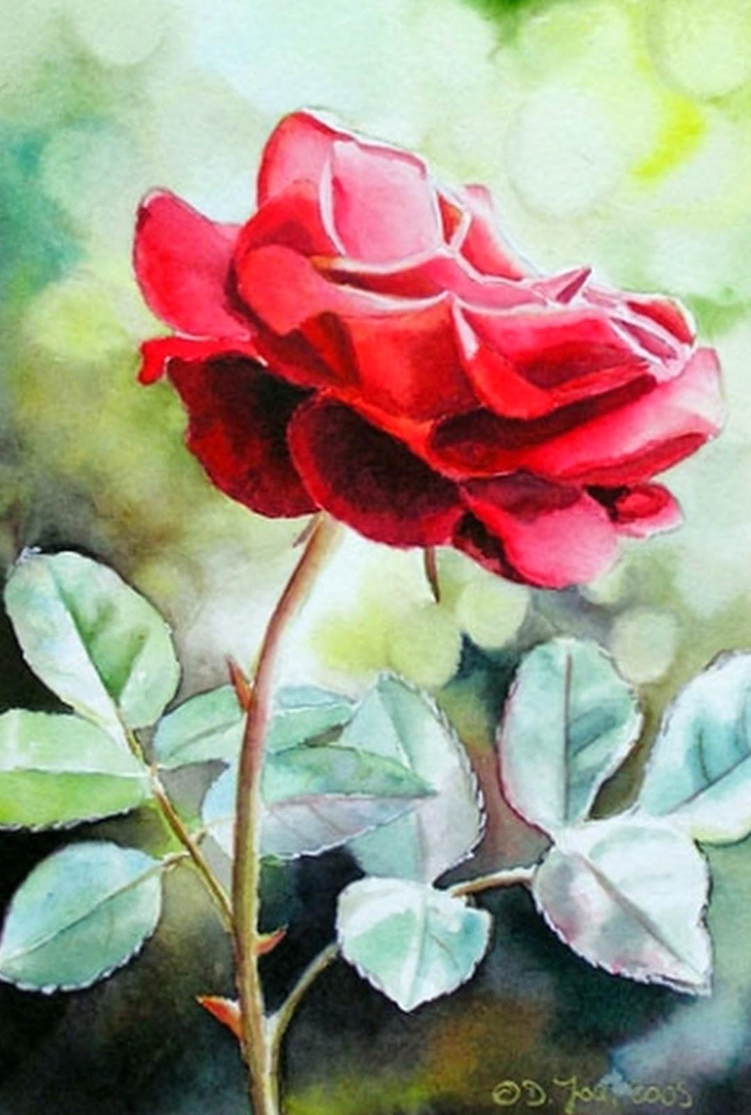 cuadros-de-flores-pintadas-con-acuarela