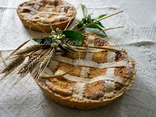 Pastiera di grano. ricetta tradizionale napoletana