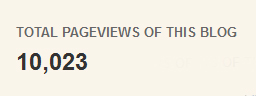 10023 page views :) congrats