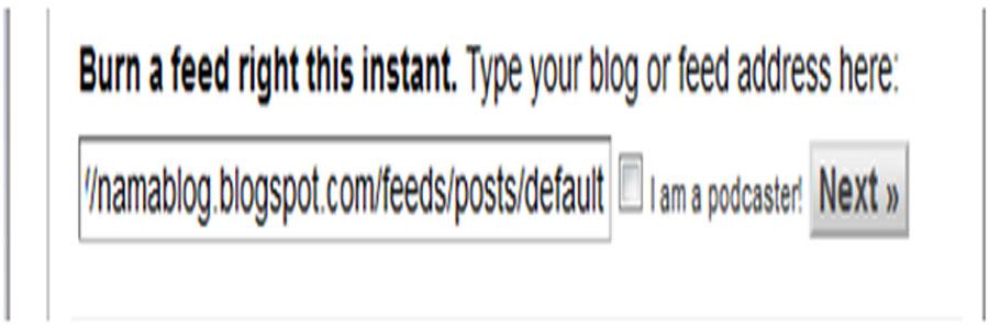 Cara Buat Kotak Berlangganan di Blog