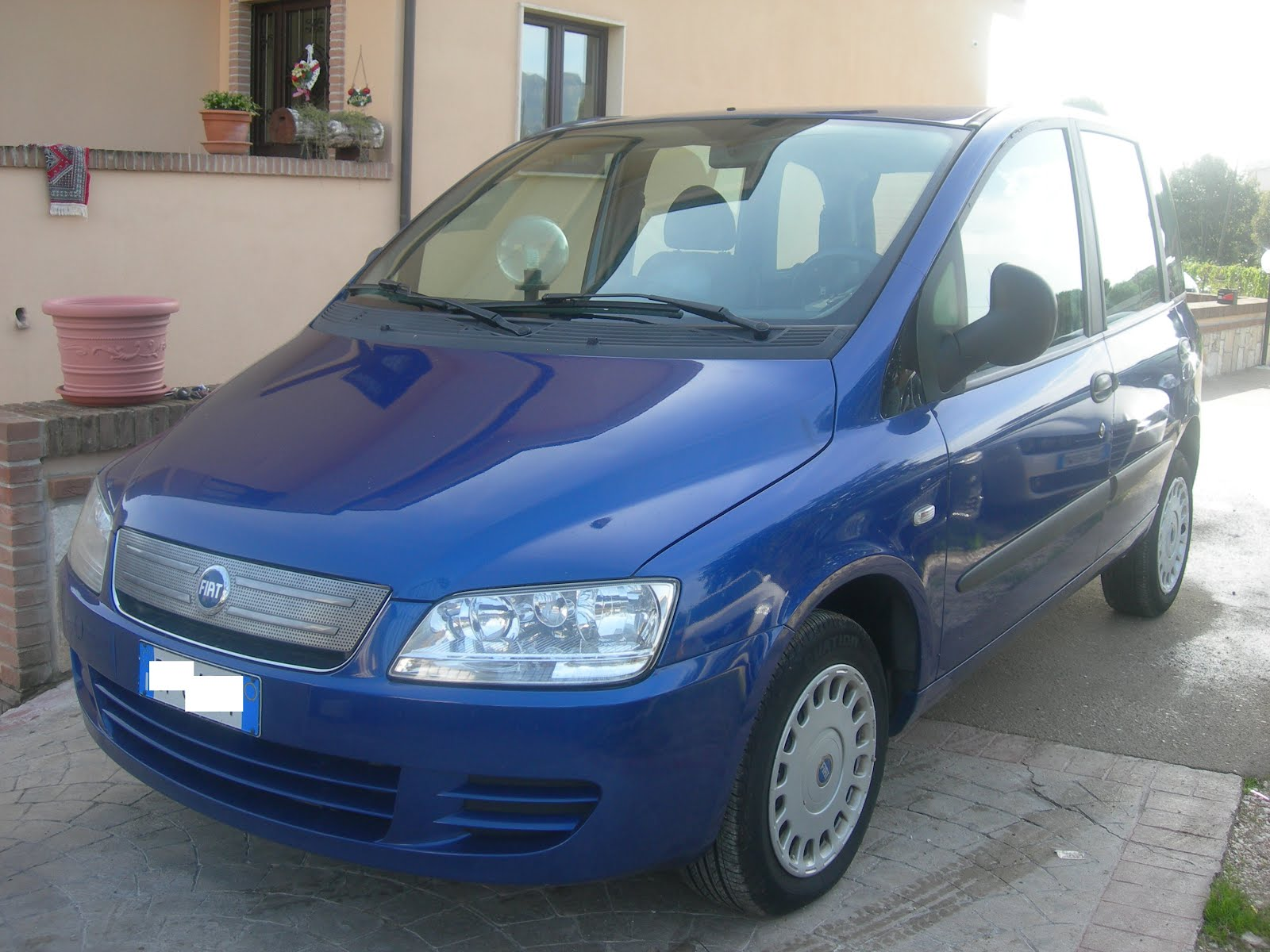 Fiat Multipla 1.6 Natural Power Metano anno 2006 Prezzo 4.500,00 euro