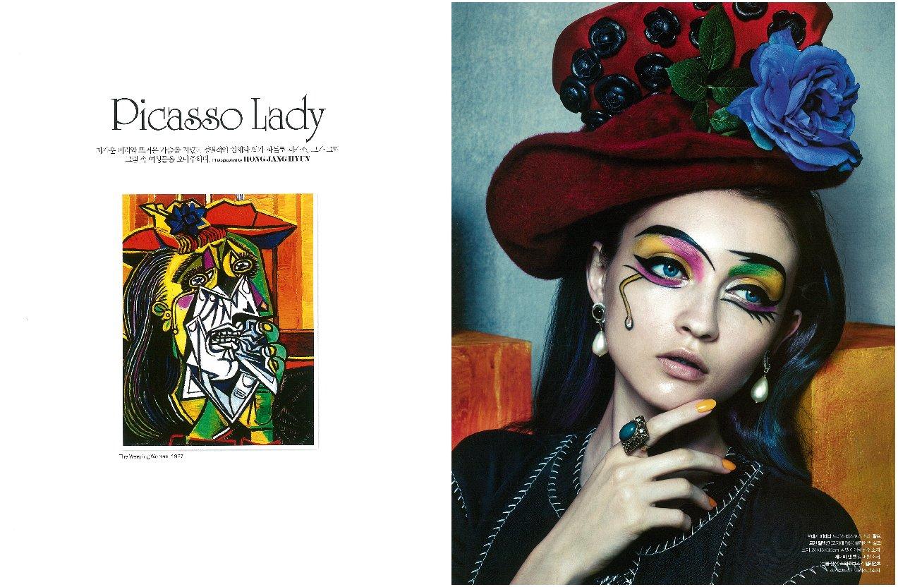 Irina gorban fashion spot Comics inking and coloring with Gimp 2.6 - David Revoy